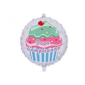 """Palloncino Mylar 18"""" Cupcake"""