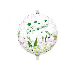 "Palloncino Mylar 18"" Promessa Bouquet"