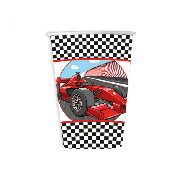 8 Bicchieri 200 cc Formula 1