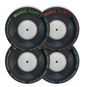 8 Piatti MIX Ø 24 cm Music Party