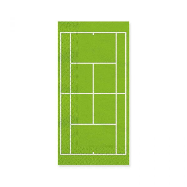 20 Tovaglioli 40 x 33 cm Tennis