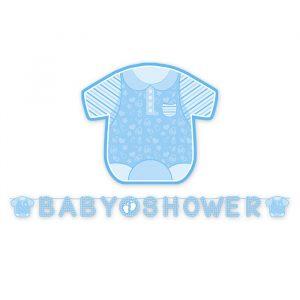Festone Kit Scritta Maxi 600 x 25 cm Baby Shower Boy