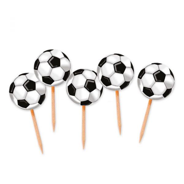 25 Picks Sagomati 4 x 7 cm Calcio