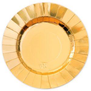 8 Piatti Ø 30 cm Gourmet Gold