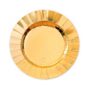 8 Piatti Ø 20 cm Gourmet Gold