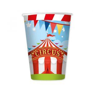 8 Bicchieri 200 cc Circus Party