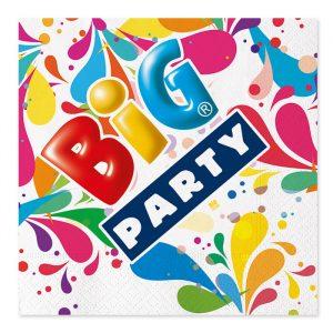 20 Tovaglioli 33 x 33 cm Big Party