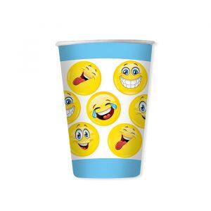 6 Bicchieri 470 cc Emoticons