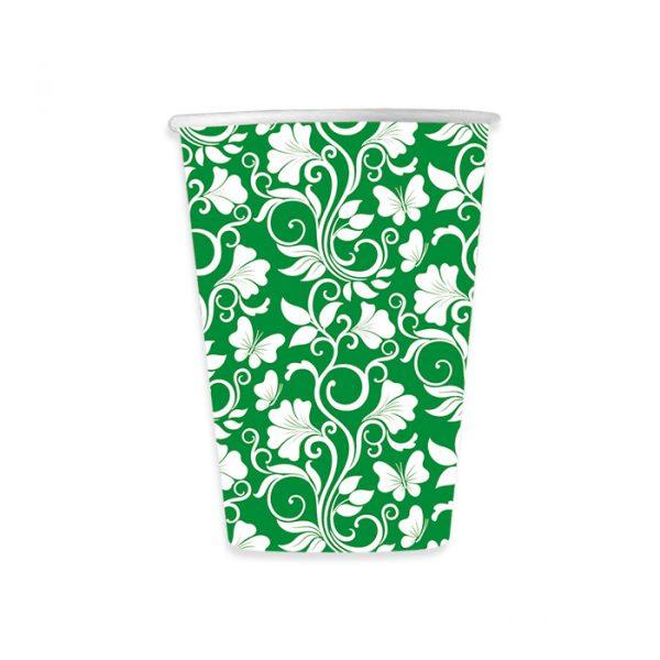 8 Bicchieri 200 cc Celebrity Verde