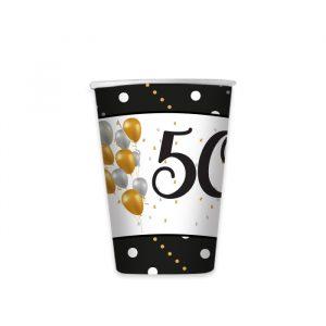 8 Bicchieri 200 cc 50 Anni Prestige