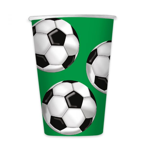 6 Bicchieri 470 cc Calcio
