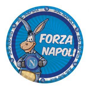8 Piatti Ø 24 cm Forza SSC Napoli