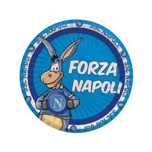 8 Piatti Ø 18 cm Forza SSC Napoli
