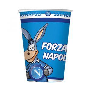 8 Bicchieri 200 cc Forza SSC Napoli
