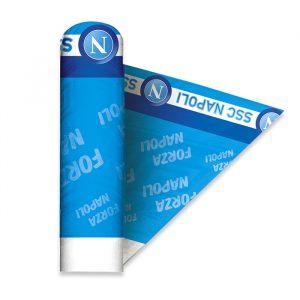 Tovaglia in carta Damascata 1.20 x 5 mt SSC Napoli