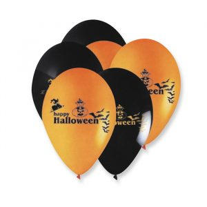 "20 Palloncini in Lattice 10"" Halloween"