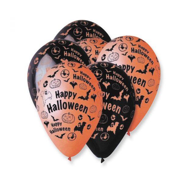 "100 Palloncini in Lattice All Around 12"" Halloween"