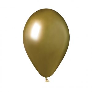 "50 Palloncini in Lattice 13"" Glossy Gold"