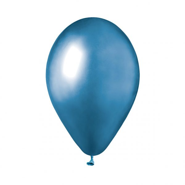"""50 Palloncini in Lattice 13"""" Glossy Blue"""