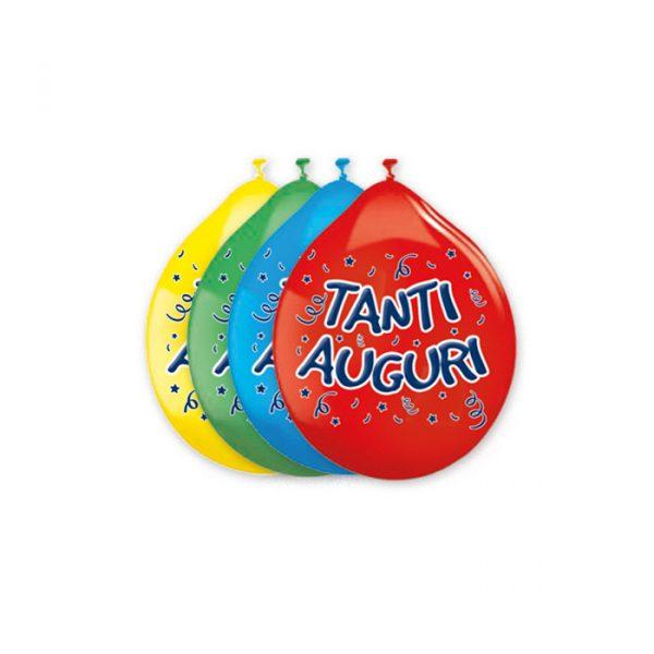 "20 Palloncini in Lattice 10"" Tanti Auguri Assortiti"