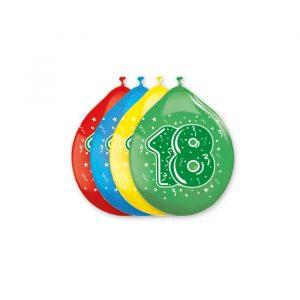 """20 Palloncini in Lattice 10"""" 18 Anni Assortiti"""