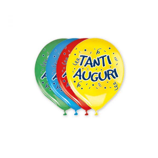 """20 Palloncini in Lattice 12"""" Tanti Auguri Assortito"""