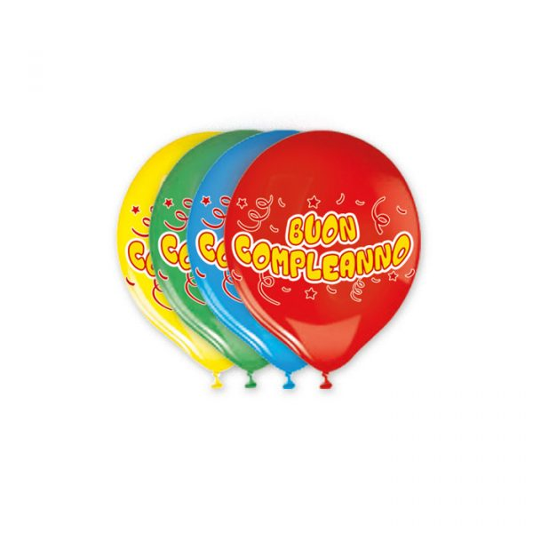 """20 Palloncini in Lattice 12"""" Buon Compleanno Assortito"""