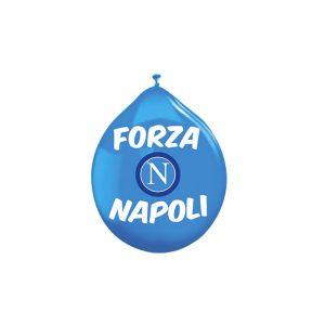 """20 Palloncini in Lattice 10"""" Forza SSC Napoli"""