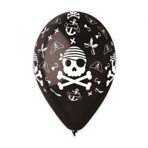 """50 Palloncini in Lattice All Around 12"""" Pirates"""