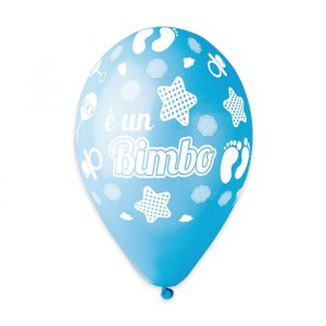 """50 Palloncini in Lattice All Around 12"""" E  un Bimbo"""