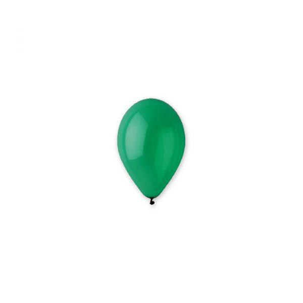 """100 Palloncini in Lattice 10"""" Verde Scuro"""