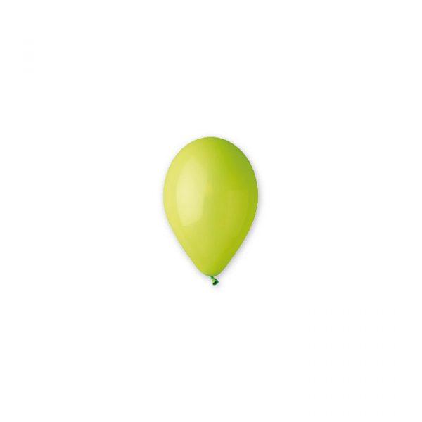 """100 Palloncini in Lattice 10"""" Verde Chiaro"""