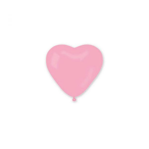 """100 Palloncini in Lattice 11"""" Cuori Rosa"""