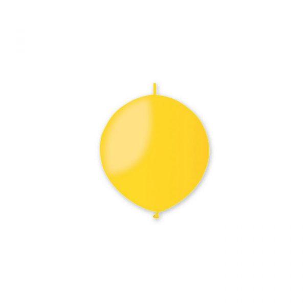 "100 Palloncini Link in Lattice 13"" Gialli"