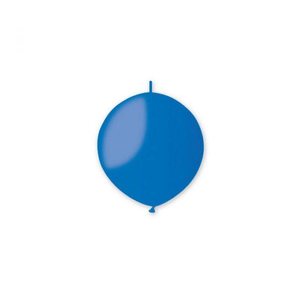 "100 Palloncini Link in Lattice 13"" Blu"