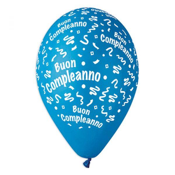 """100 Palloncini in Lattice All Around 12"""" Buon Compleanno Celeste"""