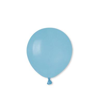 "100 Palloncini in Lattice 5"" Baby Blue"