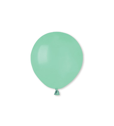 "100 Palloncini in Lattice 5"" Mint Green"