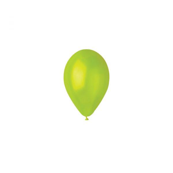 "100 Palloncini in Lattice 5"" Light Green"