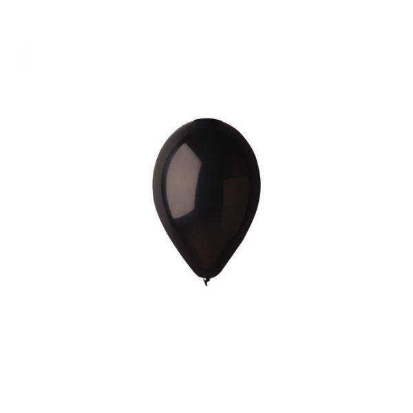 """100 Palloncini in Lattice 5"""" Black"""