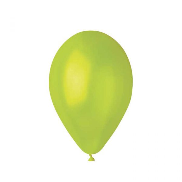 "100 Palloncini in Lattice 12"" Light Green Metal"