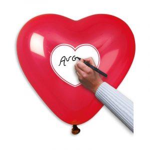 """50 Palloncini in Lattice All Around 17"""" Passion Heart"""