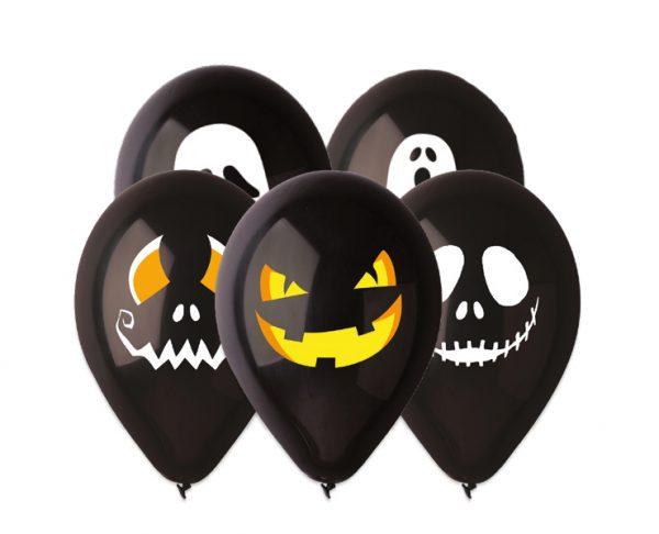 "50 Palloncini in Lattice All Around 12"" Halloween"