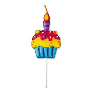 Candelina Picks 9 cm Cupcake