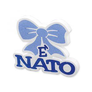 Scritta in Polistirolo 21 x 18 x 5 cm E Nato