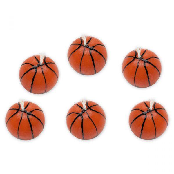 6 Candeline Palloni Basket