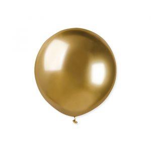 """25 Palloncini in Lattice 19"""" Glossy Gold"""