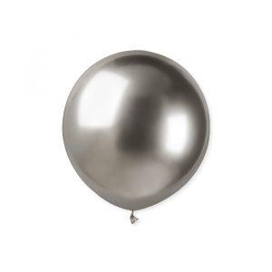 """25 Palloncini in Lattice 19"""" Glossy Silver"""