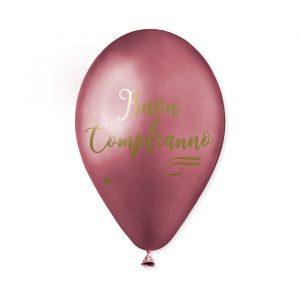 """50 Palloncini in Lattice 13"""" Glossy Buon Compleanno Rose Gold"""