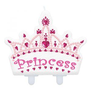 Candelina Maxi Sagomata 11 x 10 cm Princess